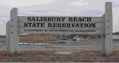 Salisbury Beach State Reservation Sign